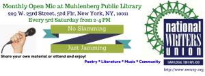Open Mic at Muhlenberg Library
