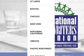 The New Website Makeover of the National Writers Union and Local Chapters is Live