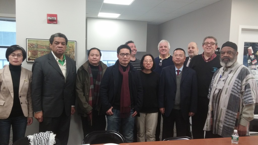 National Writers Union meets with the Zhejiang Provincial Writers Association of China in New York City.