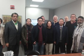 NWU Meets the Zhejiang Provincial Writers Association