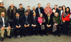 Pakistani journalists visit NWU.