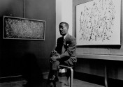 The late artist Norman Lewis. Courtesy Creative Commons