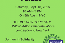 WHY THIS YEAR'S LABOR DAY MARCH MATTERS
